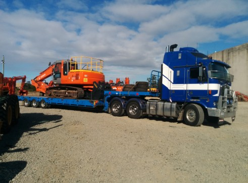Heavy Haulage - Tri-axle deck widener extendable 2