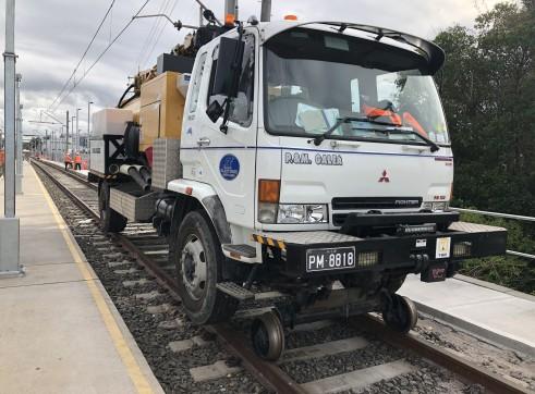 Hi rail vac truck 2