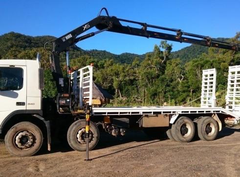 Hiab / Beavertail 8x4 Volvo FM9 - GVM 34,800kg 2