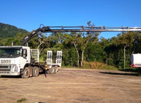 Hiab / Beavertail 8x4 Volvo FM9 - GVM 34,800kg 1