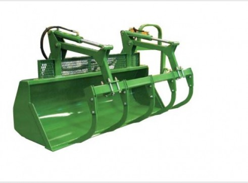 High Pivot Silage Bucket Grapple 1