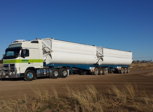 High Volume Side Tippers