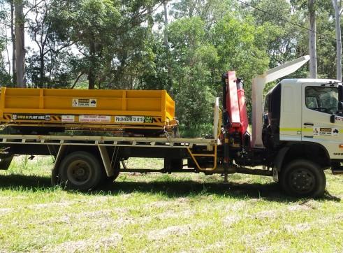Hino 500 Crane Truck