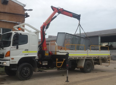 Hino 500 Crane Truck 2