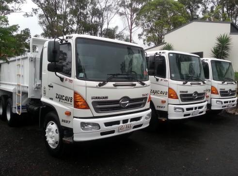 Hino 500 Tipper Truck 1