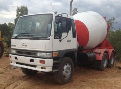 Hino Agitator Cement Truck 1