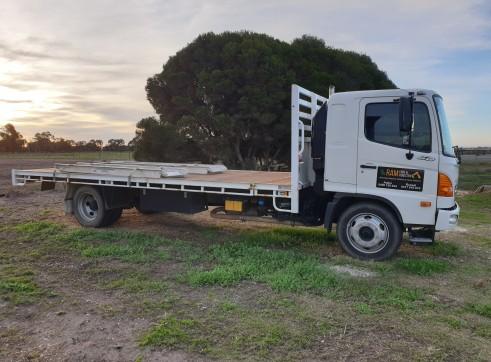 Hino Flat Tray Truck