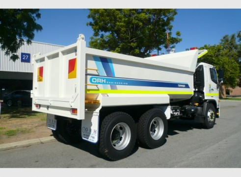 Hino FM 500 2426 Tippers 1