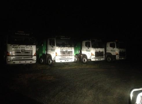Hino Twin Steer Trucks