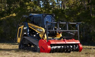 HIRE FECON MULCHER & DAVCO BRUSHCUTTER 1