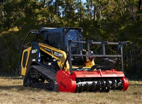 HIRE FECON MULCHER & DAVCO BRUSHCUTTER 3