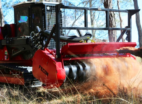 HIRE FECON MULCHER & DAVCO BRUSHCUTTER 6