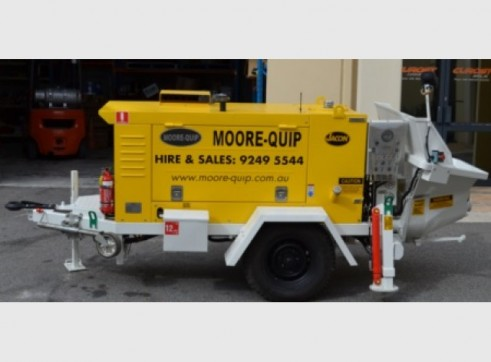 Hire S20 Concrete/Grout Pump, 30 Cubes per hour, up tp 20mm Aggregate 1