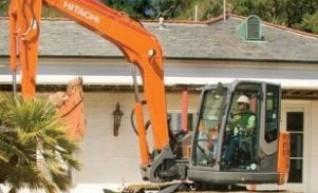 Hitachi 8t Excavator 1