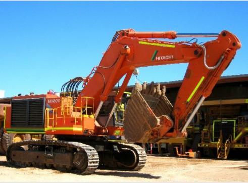 Hitachi EX1200BE-5 Excavator 1