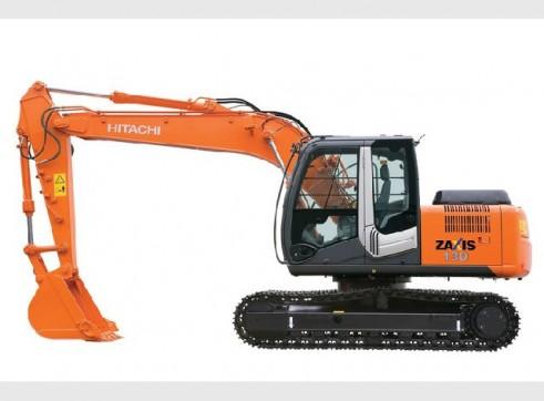 Hitachi Excavator 130 1