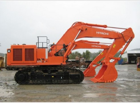 Hitachi ZX670 BEH Excavator 1