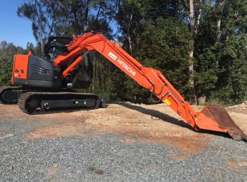 Hitachi ZX85 Mini Excavator , 8 ton  4