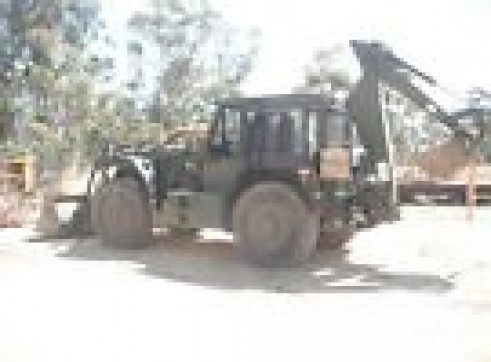 HMEV high speed heavy duty backhoe 2