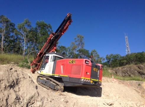 Hydraulic Blast Hole Drill 2