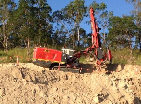 Hydraulic Blast Hole Drill 3