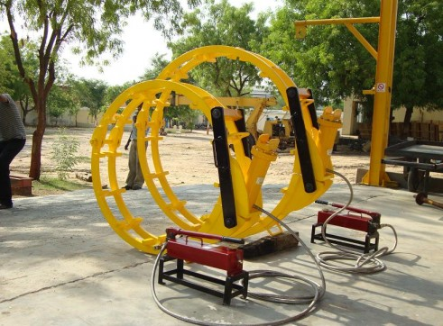 Hydraulic External Line-up Clamp 1