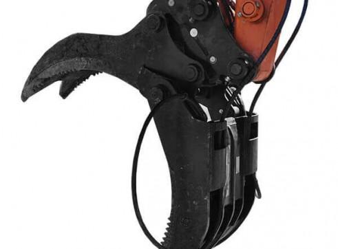 Hydraulic Grab - suit 13.5T Excavator 1
