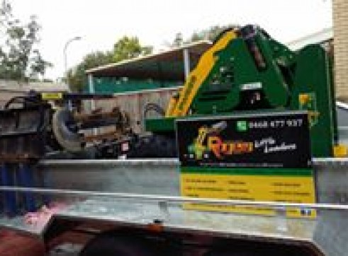 Hydraulic Tipper Trailer Hire Construction Equipment in Brisbane Qld  Machi 9