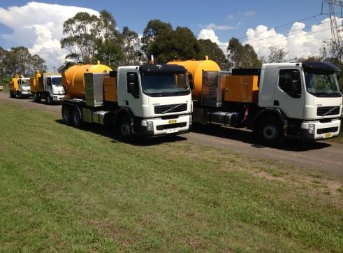 Hydro vacuum excavation trucks 1