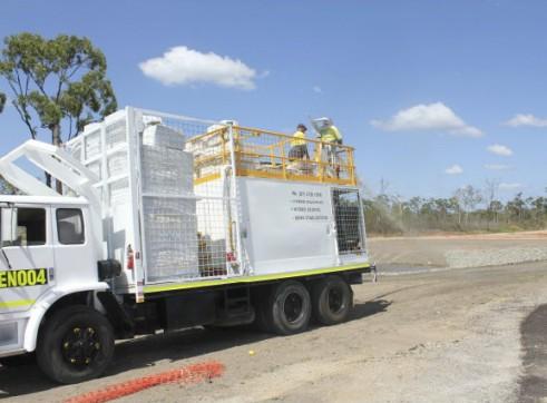 Hydromulch Truck 2