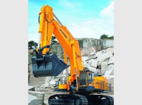 Hyundai 120T R1200-9 Excavator 3