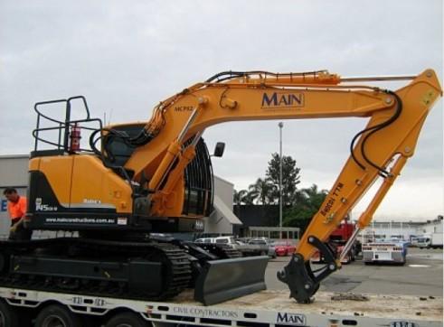 Hyundai 14.5T R145CRD-9 Excavator 2
