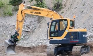Hyundai 14.5T R145CRD-9 Excavator 1