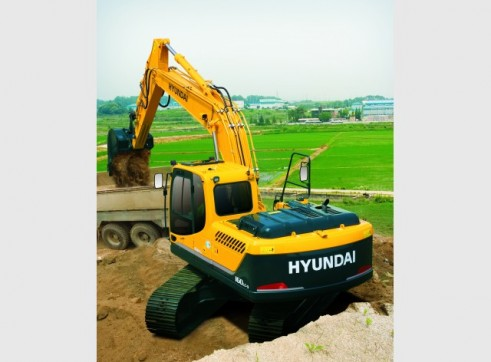 Hyundai 16T R160LCD-9 Excavator 1