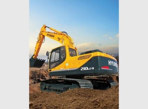 Hyundai 21T R210LC-9 Excavator 1