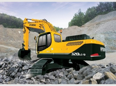 Hyundai 32T R320LC-9 Excavator 2