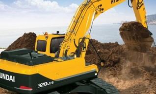 Hyundai 32T R320LC-9 Excavator 1