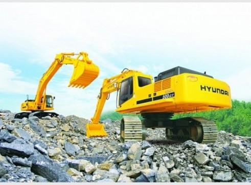 Hyundai 50T R500-7 Excavator 1