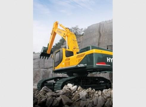 Hyundai 52T R520LC-9 Excavator 1