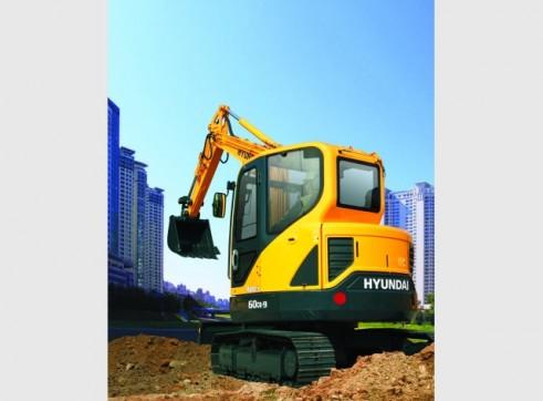 Hyundai 6t R60-9 Mini Excavator 3