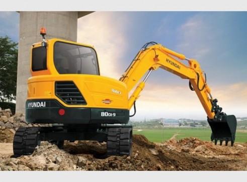 Hyundai 8T R80-9 Mini Excavator 1