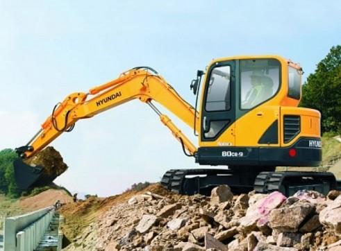 Hyundai 8T R80-9 Mini Excavator 2