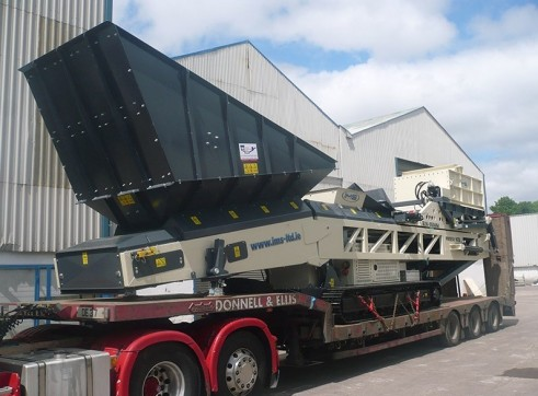 IMS Tracked Pugmill 4