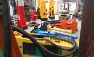 Indeco Rock Breaker Hydraulic Hammer HP9000 1