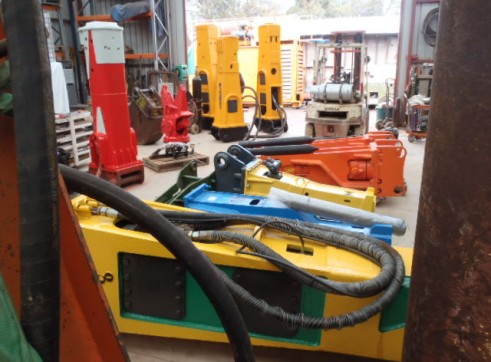 Indeco Rock Breaker Hydraulic Hammer HP9000 1