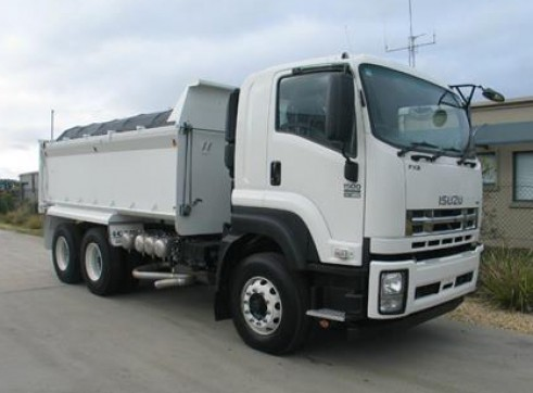 Isuzu 10m Tipper - Any Location Available 1