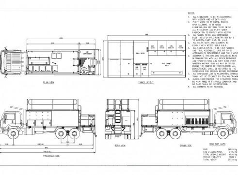 Isuzu FVZ 1400 6x4 Rigid Service 2