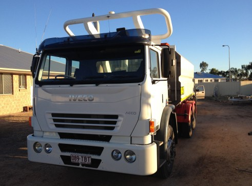 Iveco 13,500L Water Truck 1