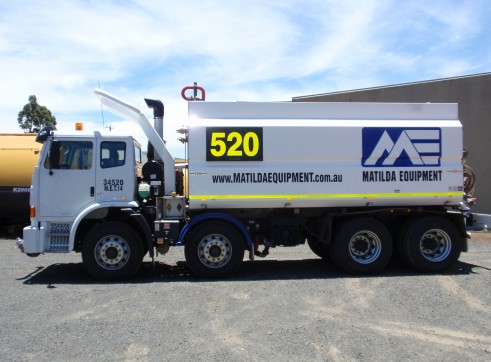 Iveco Acco 8 X 4 Water Truck 1