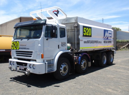 Iveco Acco 8 X 4 Water Truck 3